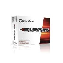 TAYLORMADE Burner Golf Balls - White - 12-Pack