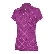 ClimaLite Contrast Diamond Printed Polo
